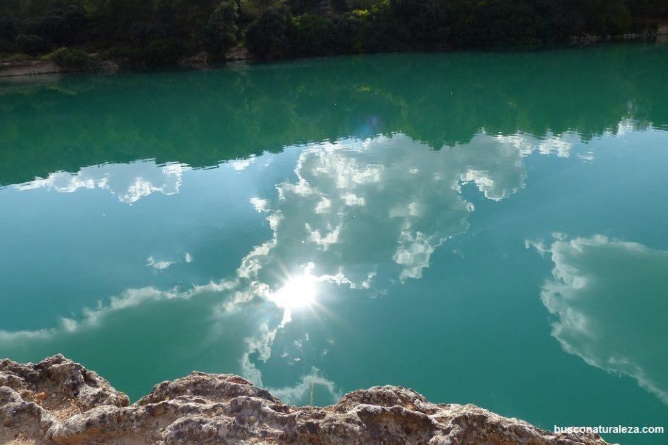 Agua turquesa Ruidera