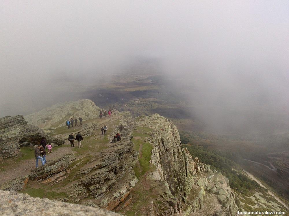 Peña de Francia Niebla